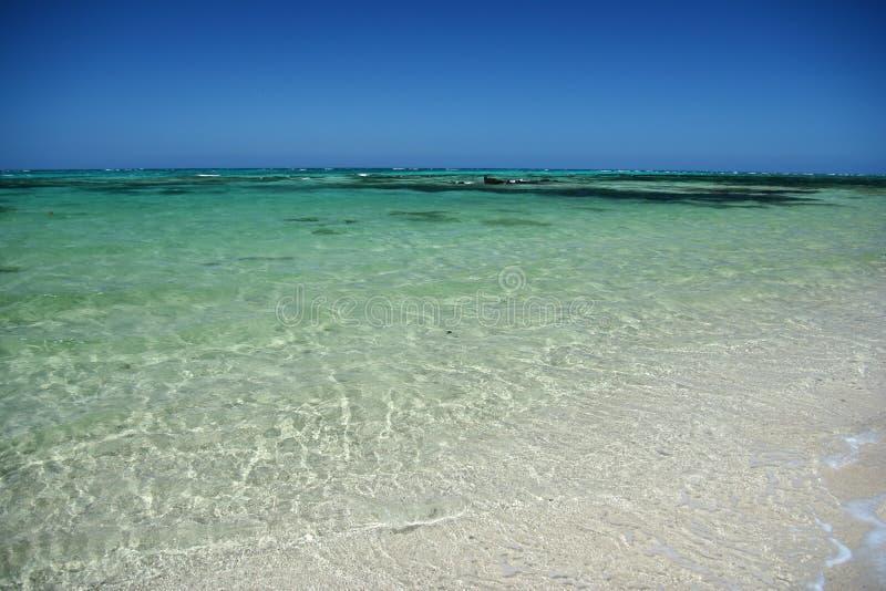 La spiaggia dell'alabastro nel Fiji immagini stock