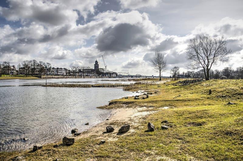La spiaggia in Deventer fotografia stock