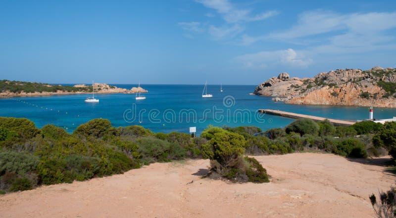 La spiaggia di paradiso fotografia stock libera da diritti