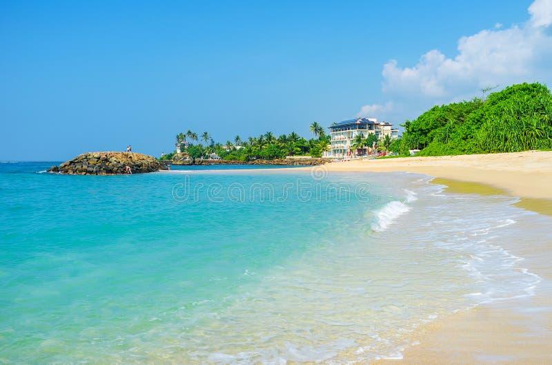 La spiaggia di paradiso immagine stock