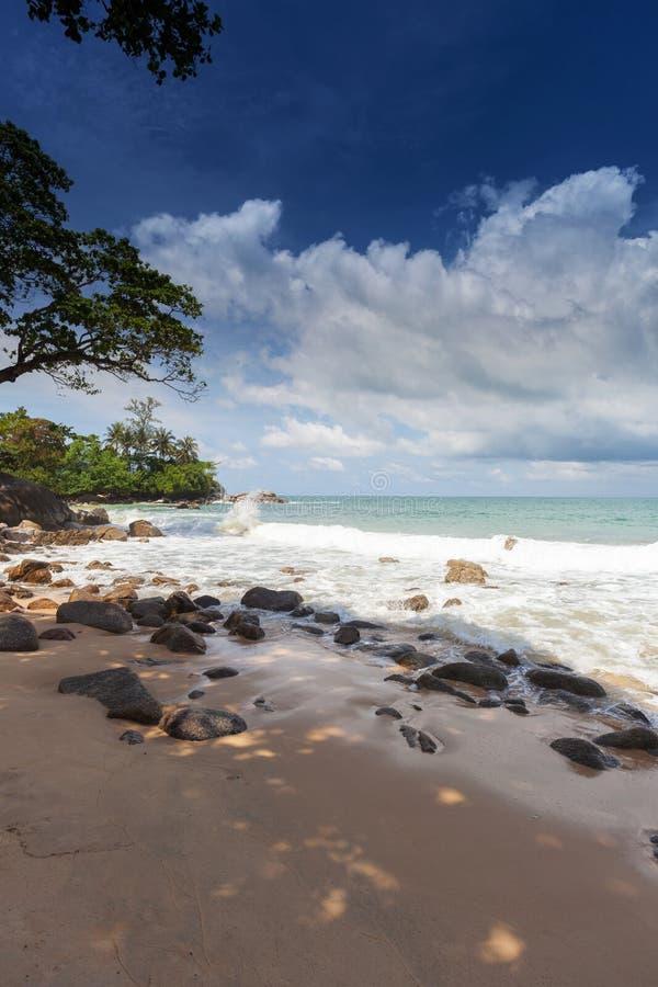 La spiaggia Laem canta a Phuket fotografia stock libera da diritti