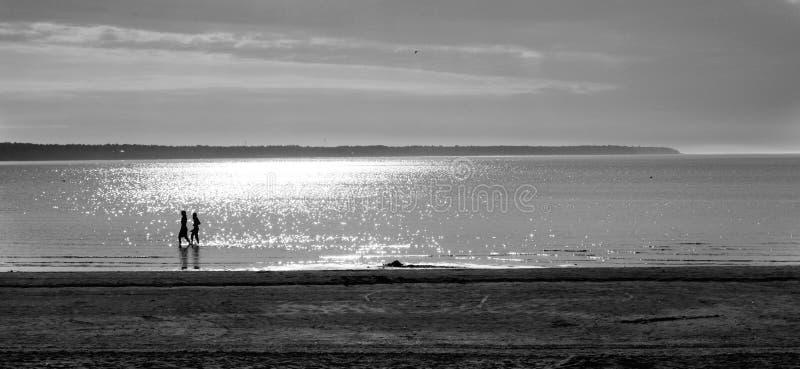 La spiaggia, puntello immagini stock libere da diritti