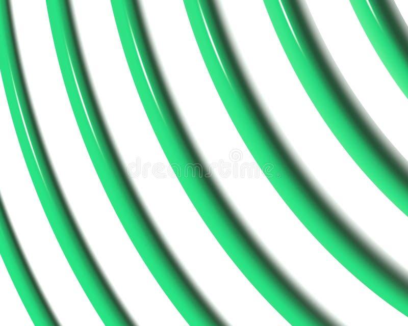 La spirale optique d'art courbe la triangle 03 illustration stock