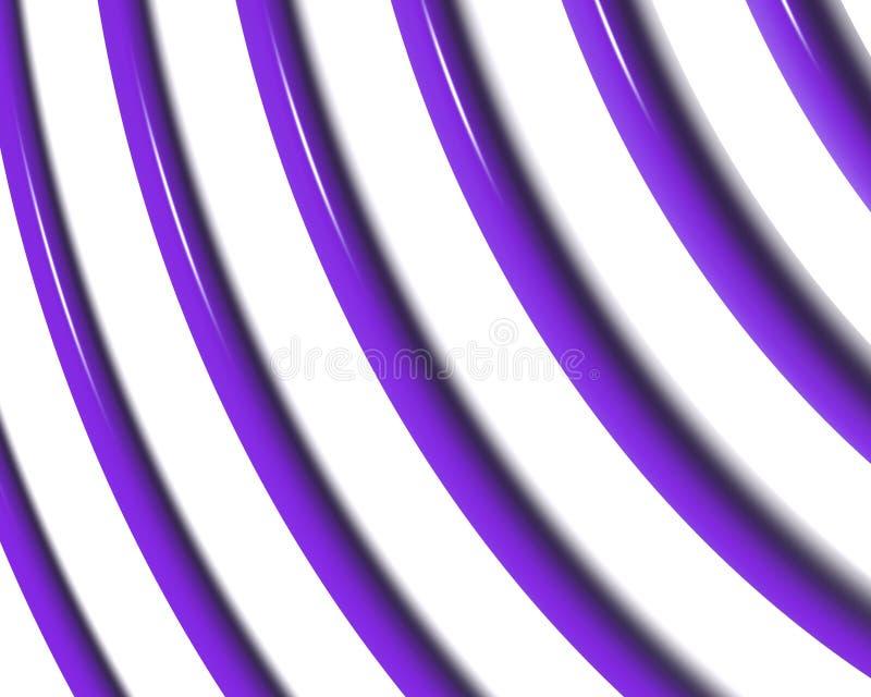La spirale optique d'art courbe la triangle   illustration stock