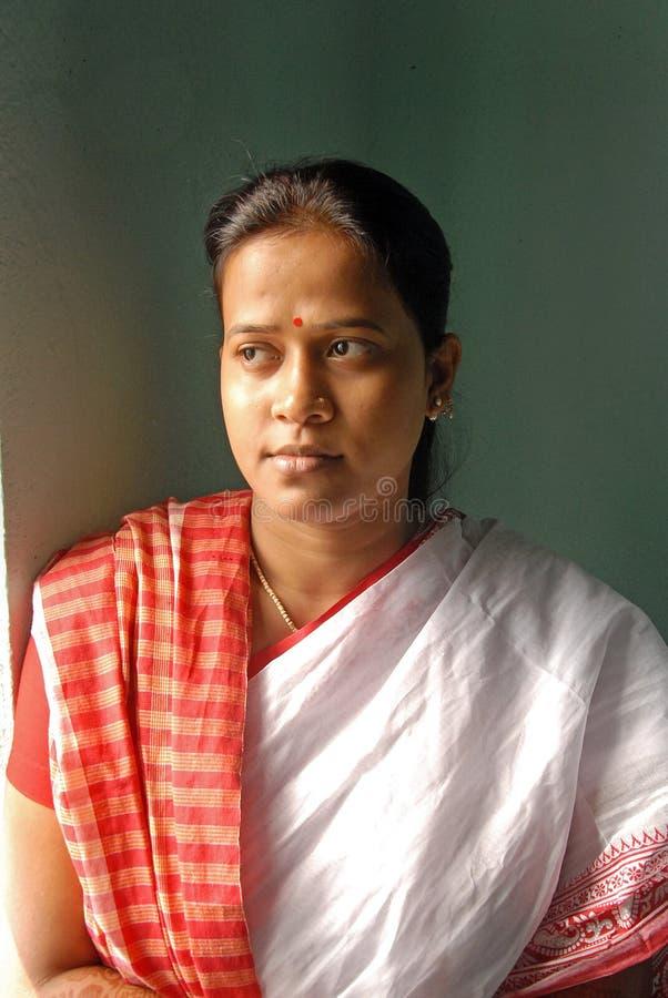 La sposa del bengalese fotografia stock