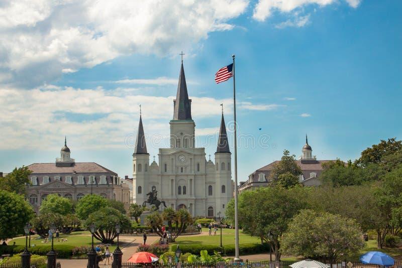 La st Louis Cathedral immagini stock libere da diritti