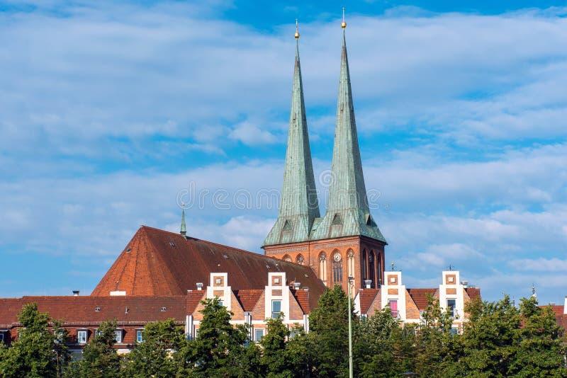 La st Nicholas Church a Berlino fotografie stock libere da diritti