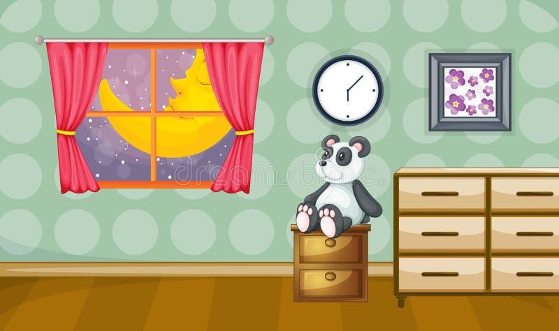 La stanza dei bambini royalty illustrazione gratis