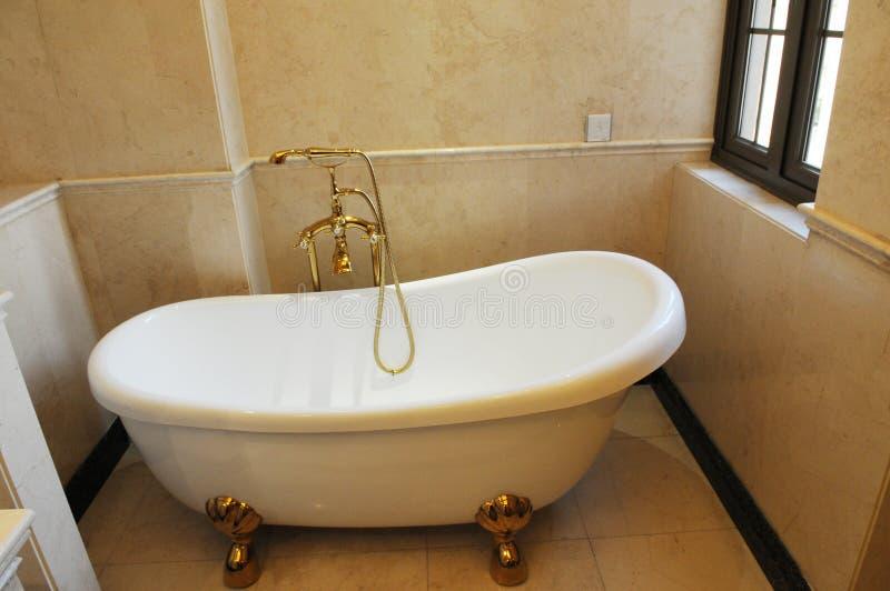 La stanza del bagno fotografie stock libere da diritti