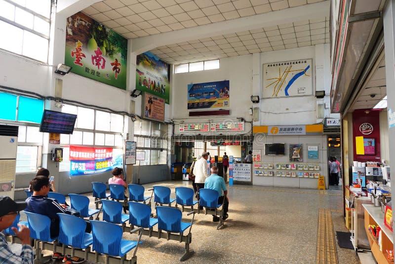 La station de train de Taïwan photo libre de droits