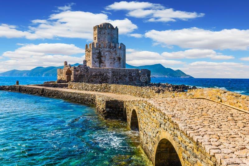 La station de vacances en Grèce méditerranéenne images libres de droits