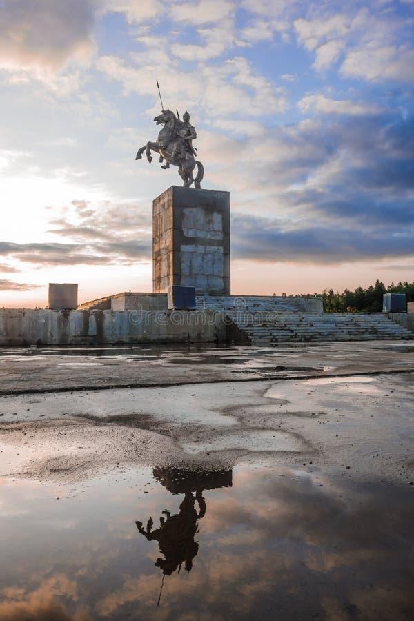 La statua degli yuan di mA immagine stock