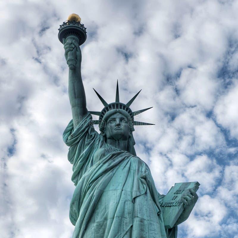 La statua della libertà immagine stock libera da diritti