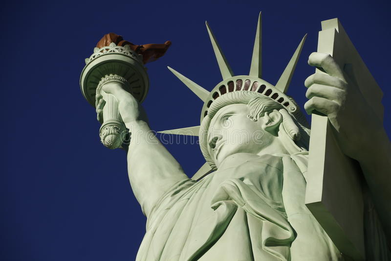 La statua della libertà fotografie stock libere da diritti