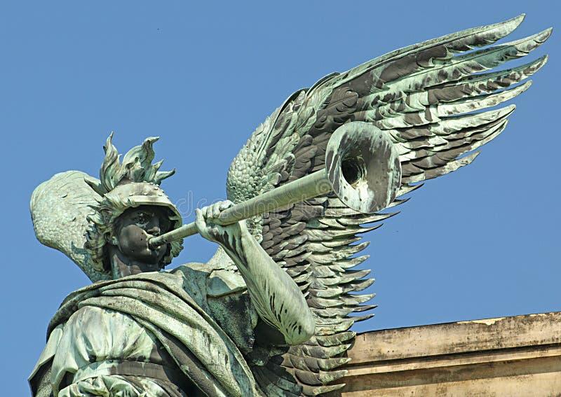 La statue de guerre image stock
