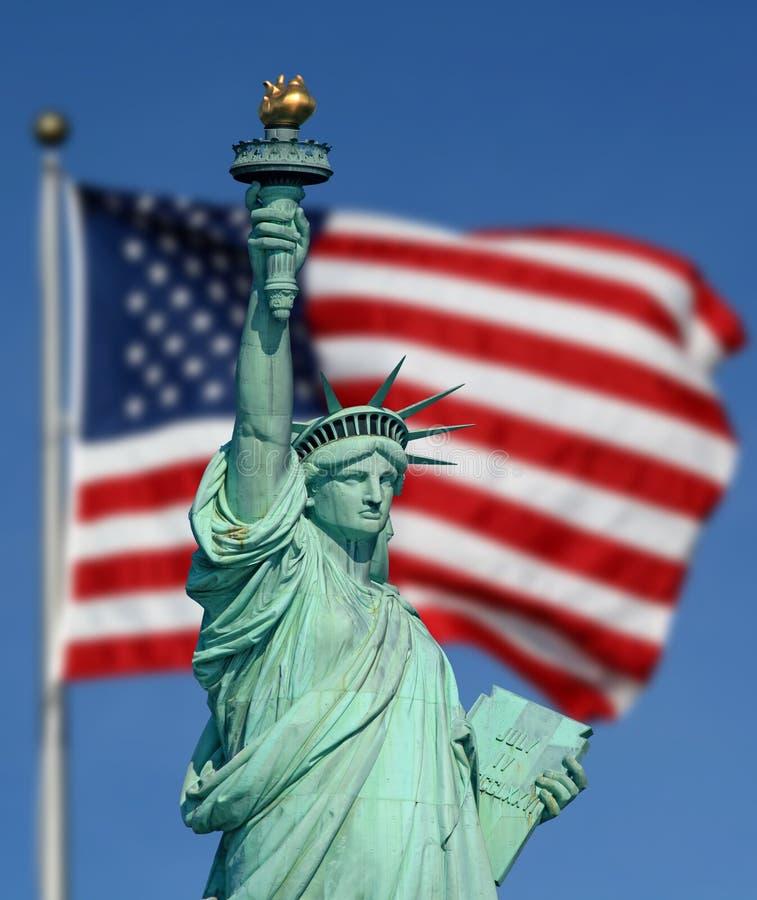 La statue de la liberté photos libres de droits