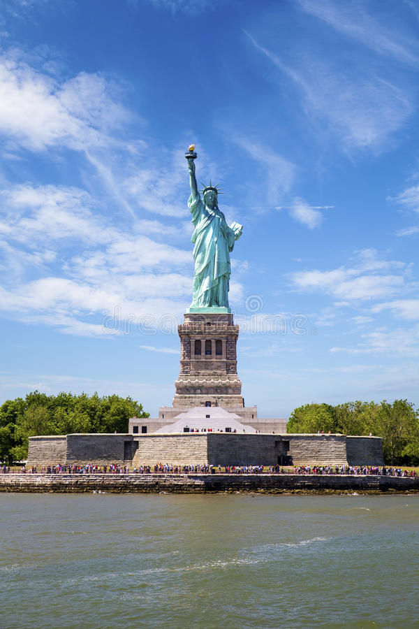 La statue de la liberté photo stock
