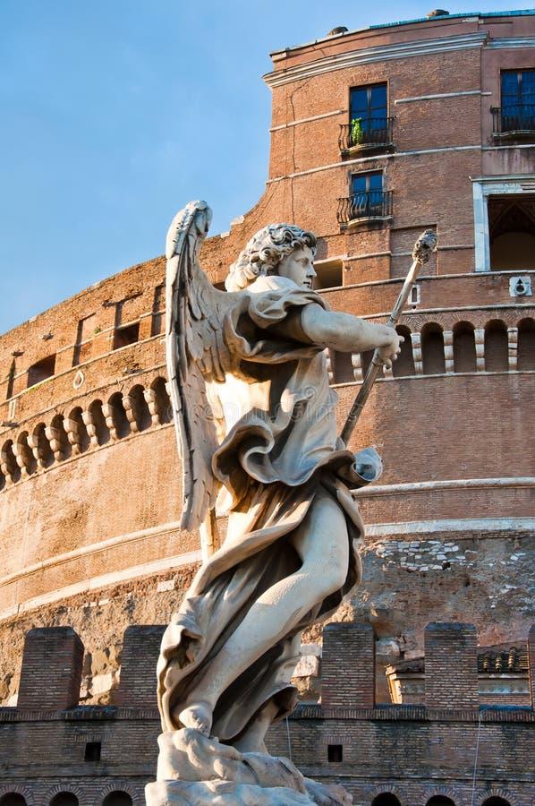 La statue de marbre de Bernini de l'ange photos libres de droits