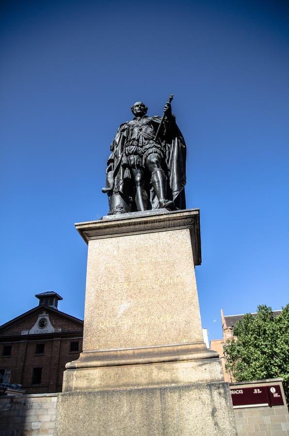La statue de prince Albert érigée par le peuple de la Nouvelle-Galles du Sud commémore le prince Consort de la Reine Victoria photos libres de droits