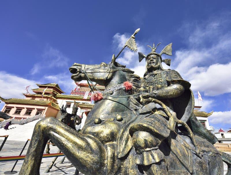La statue en bronze de généraux antiques photos libres de droits