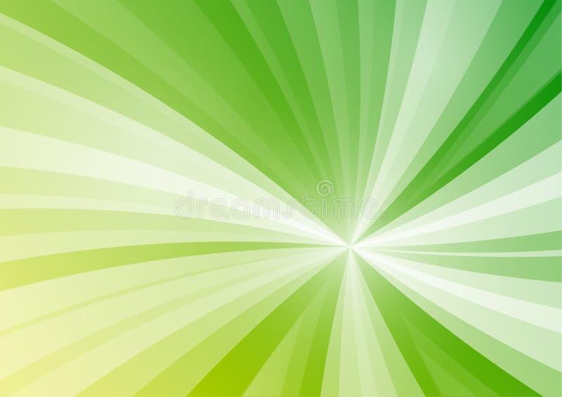 La stella verde astratta allinea il fondo royalty illustrazione gratis