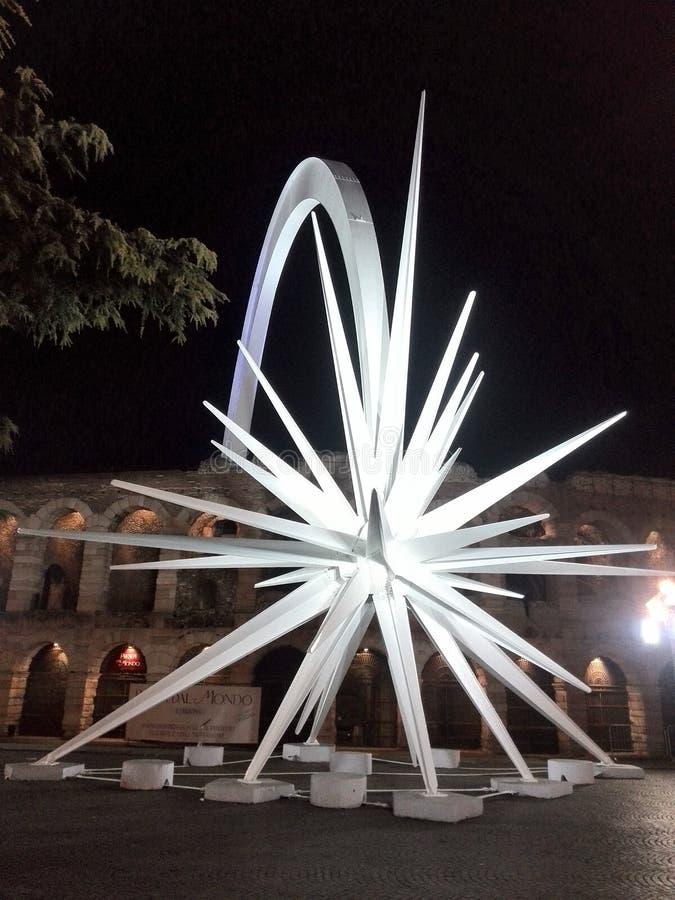 La stella a Verona fotografia stock