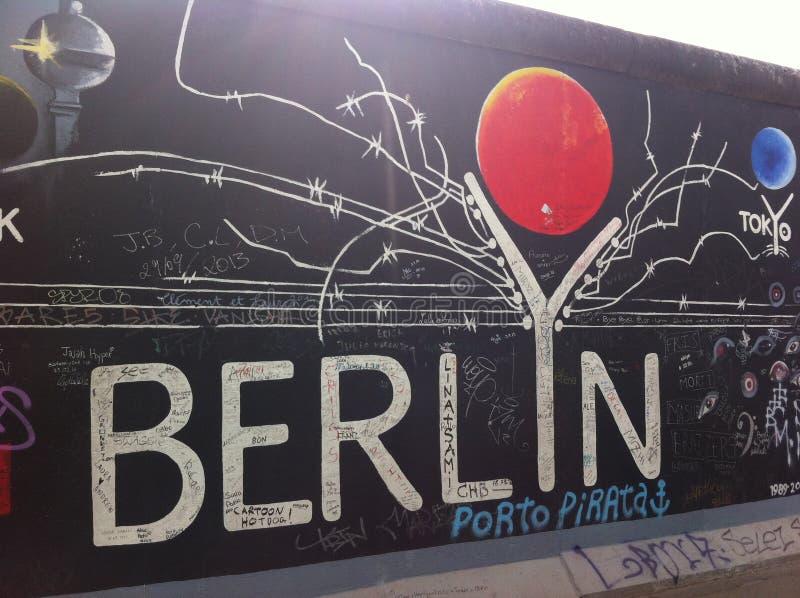 La storia di Berlino fotografie stock