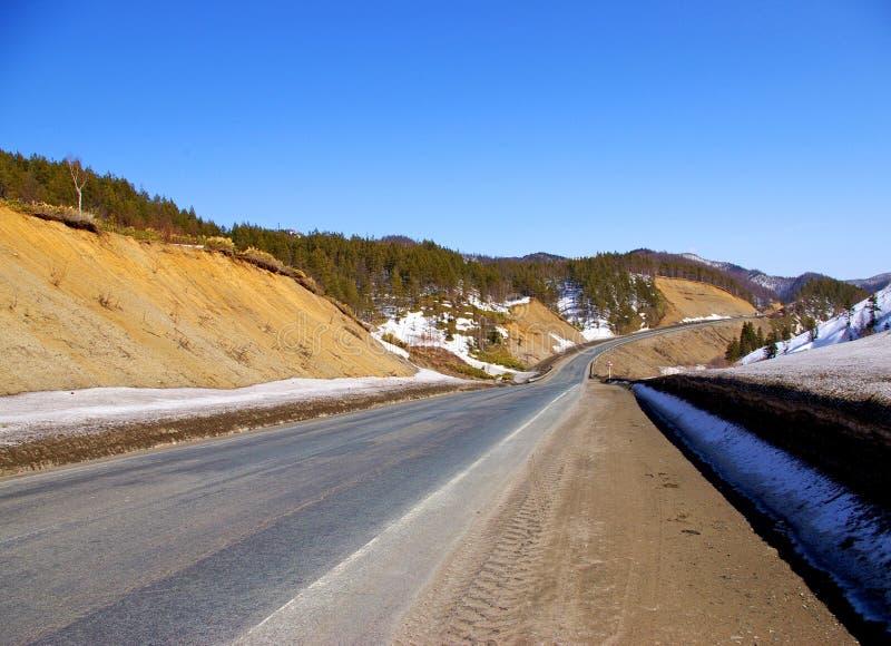 La strada. immagine stock