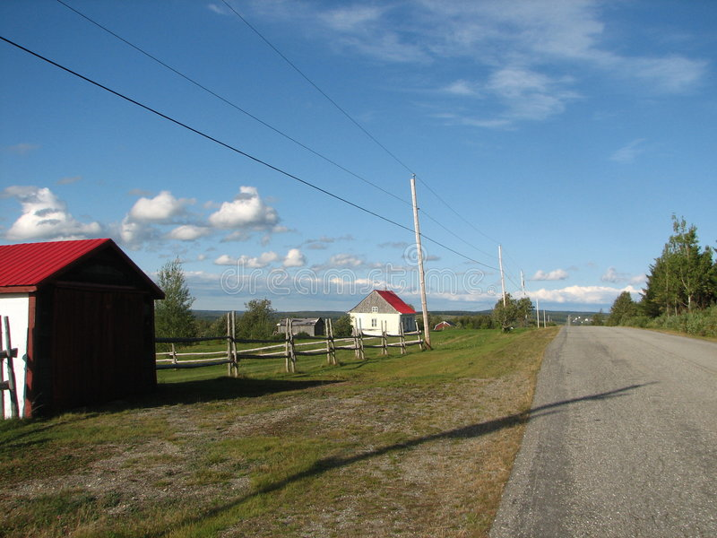 Download La strada avanti fotografia stock. Immagine di recinzione - 3889712