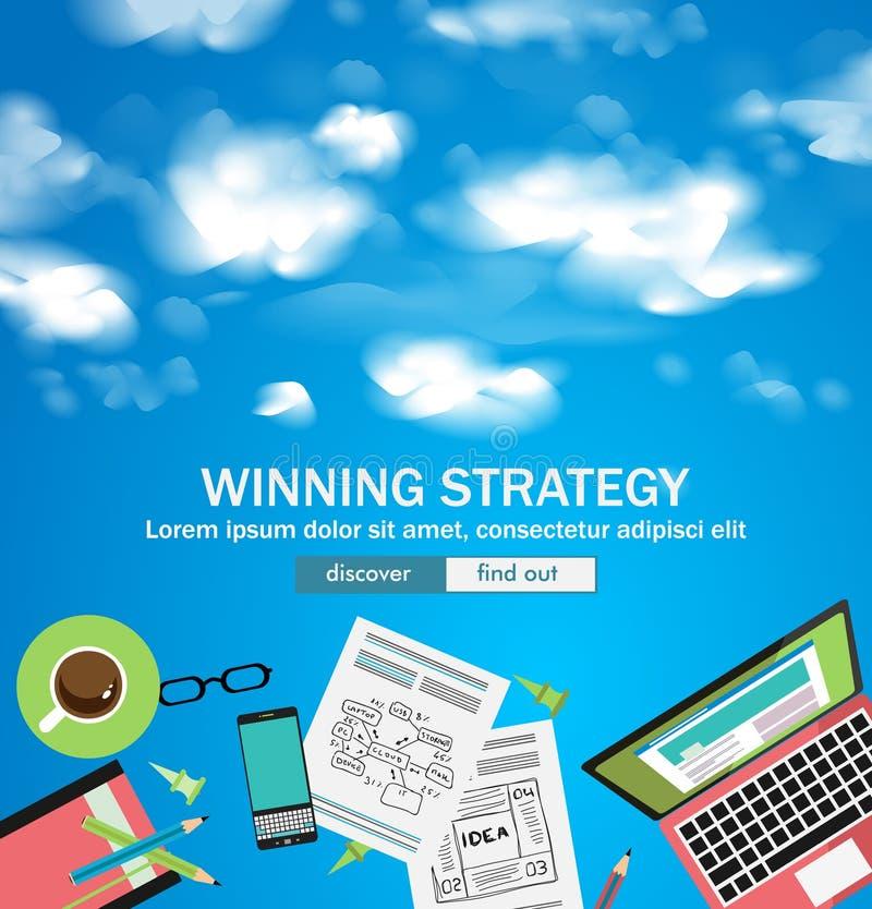 Download La Stratégie De Gain Pour Le Concept D'affaires Avec Le Griffonnage Conçoivent Le Style Illustration de Vecteur - Illustration du fond, finances: 77153527