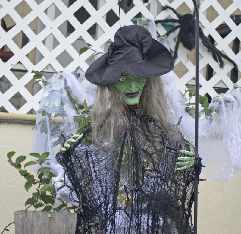 La strega di Halloween fotografie stock libere da diritti
