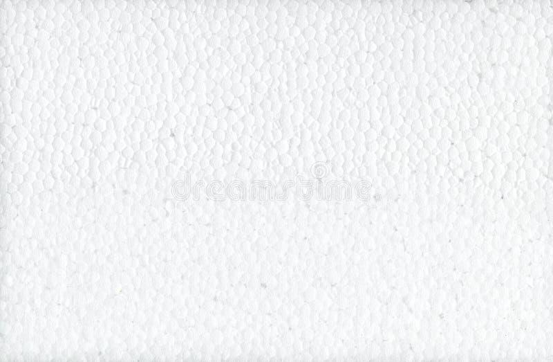 La struttura è una schiuma bianca Fondo di struttura della schiuma di stirolo Struttura del polistirene espanso Struttura della s fotografia stock libera da diritti