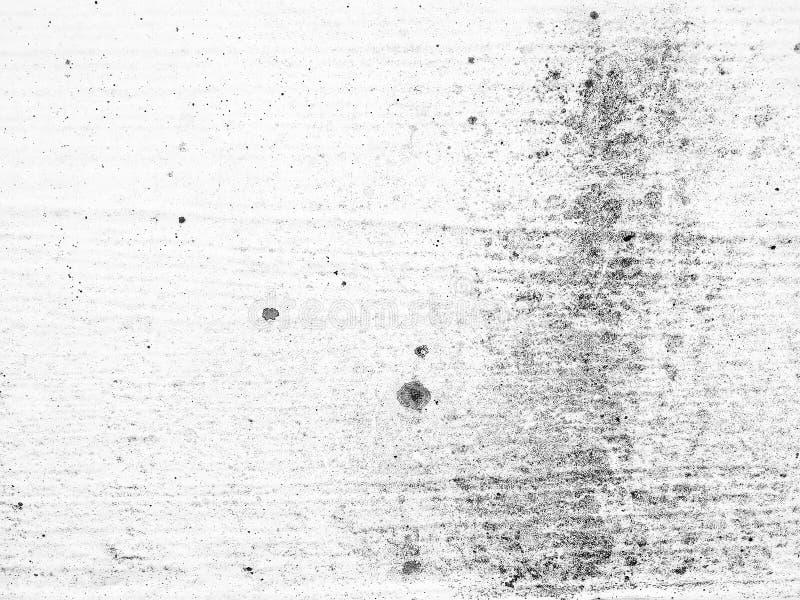 La struttura in bianco e nero di stile di lerciume, il fondo sudicio scuro stagionato della sovrapposizione della polvere, modell fotografia stock libera da diritti