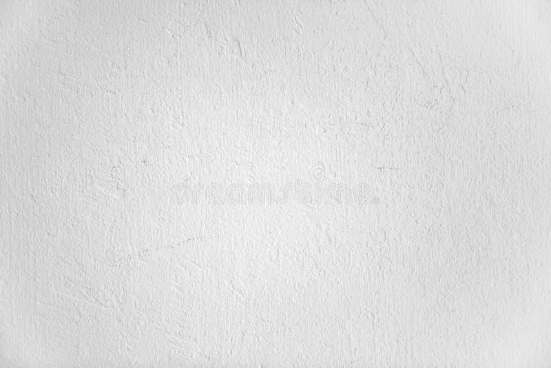 La struttura casuale ed il modello della chiara parete del cemento bianco per qualsiasi fondo crudo immagine stock