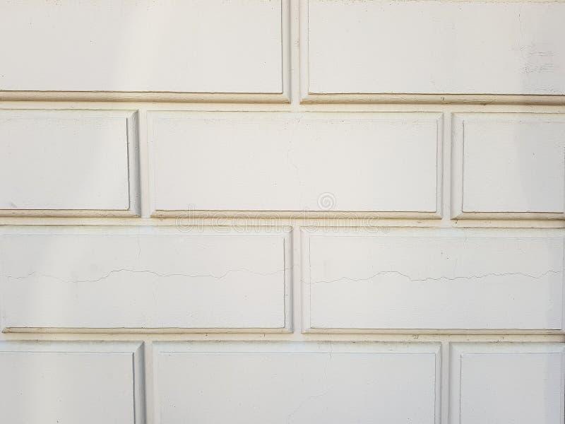 La struttura dei mattoni Muro di mattoni nel colore bianco Il textura del mattone grigio fotografia stock
