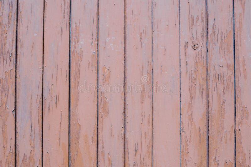 La struttura del bordo di legno marrone fotografia stock