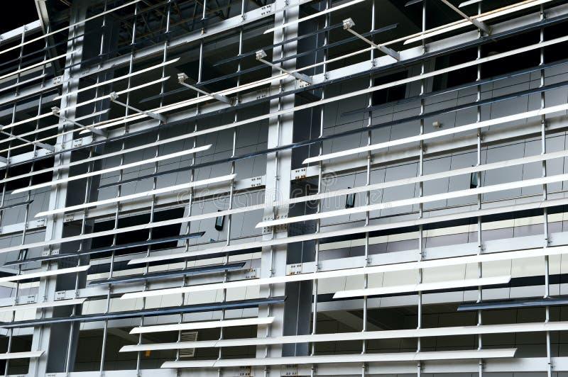 La struttura del metallo di costruzione fotografie stock libere da diritti