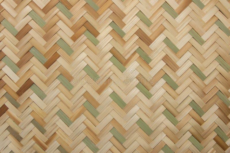 La struttura del rattan, dettaglio handcraft il fondo di bambù di struttura di tessitura immagini stock