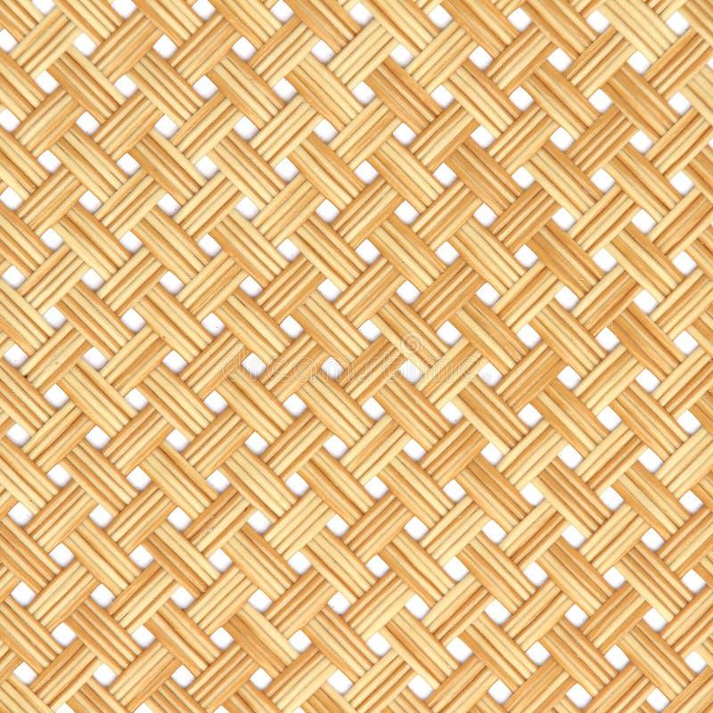 La struttura del rattan, dettaglio handcraft il fondo di bambù di struttura di tessitura Reticolo tessuto , modello di vimini per immagine stock