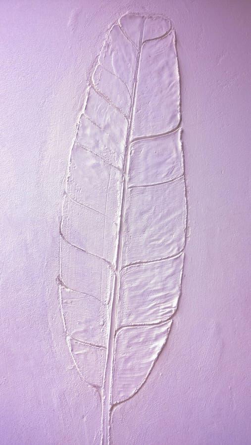 La struttura della parete di verde della foglia della banana fotografie stock