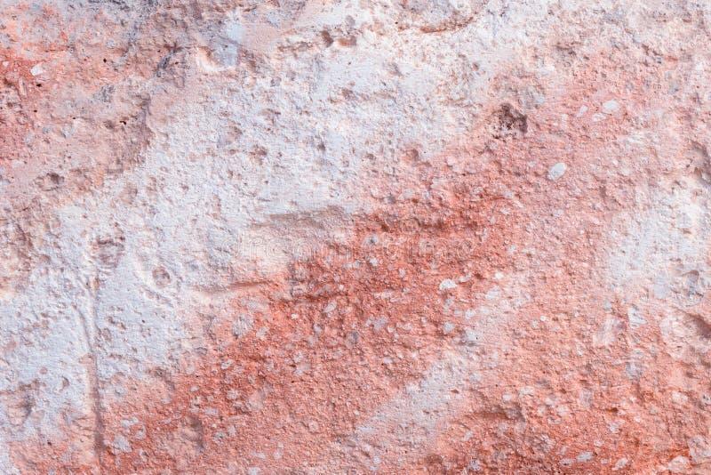 La struttura della pietra Corallo, rosa Sfondo naturale B fotografia stock libera da diritti