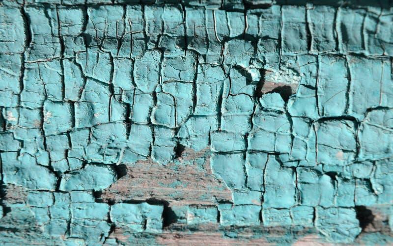 La struttura della pittura del turchese fotografia stock