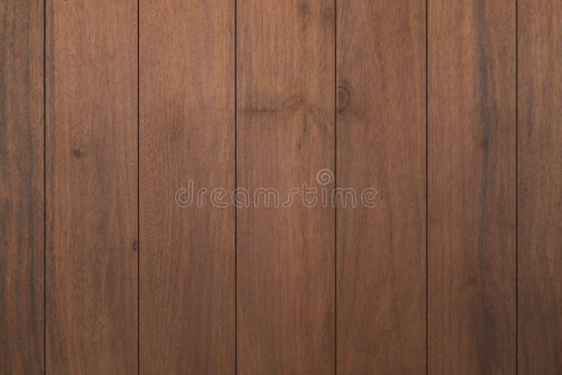 La struttura della plancia di legno scura può essere uso per fondo I precedenti di legno scuri sono sulla vista superiore di di l fotografia stock libera da diritti