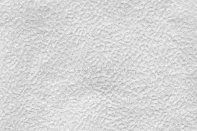 la struttura della superficie di sollievo del tovagliolo di carta, si chiude su fondo astratto immagine stock libera da diritti