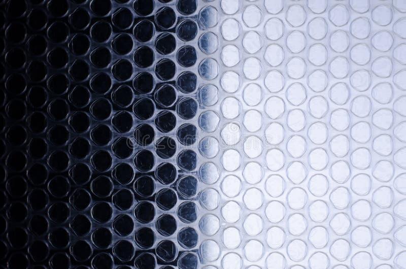 La struttura delle bolle il polietilene fotografia stock libera da diritti