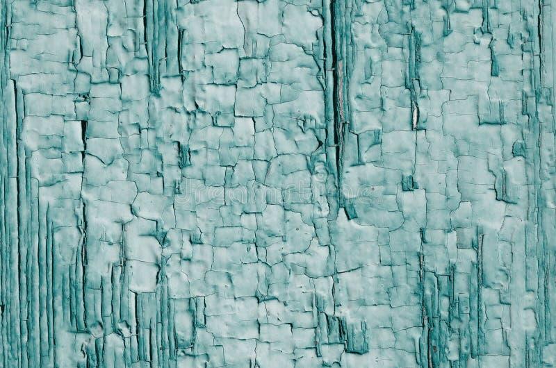 La struttura di pittura verde su legno fotografie stock libere da diritti