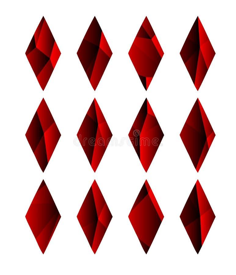 La struttura variopinta astratta con la carta semina la fantasia illustrazione vettoriale