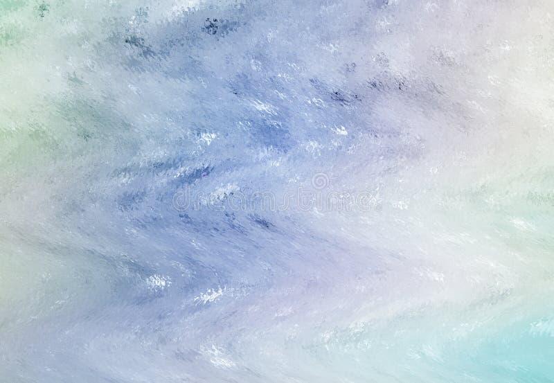 La suavidad fresca del hielo entonó el extracto libre illustration