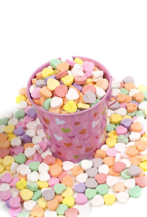 La sucrerie de Valentine photographie stock libre de droits