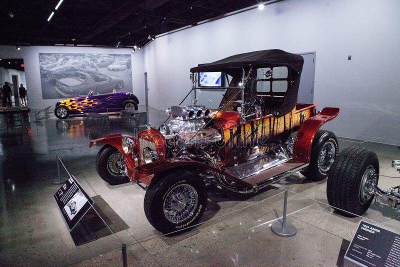 La sucrerie rouge a coloré la racine 1923 de sucrerie appelée par roadster de Ford Model T B photo libre de droits